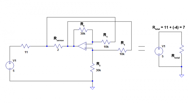 completed example circuit